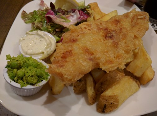 From Ireland: the best fish & chips I have ever had