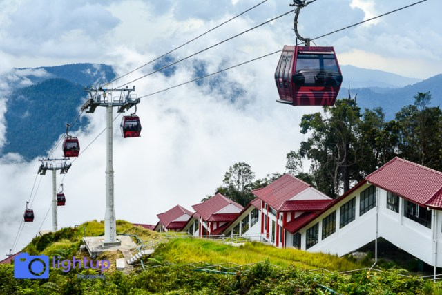 Cable car ride at Genting Highlands