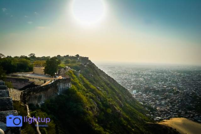 Nahargarh fort view