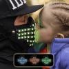 light up rave mask led