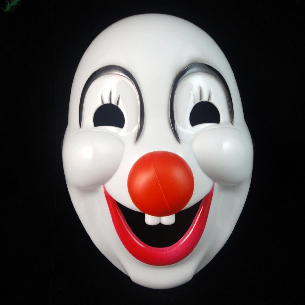 led-clown-mask