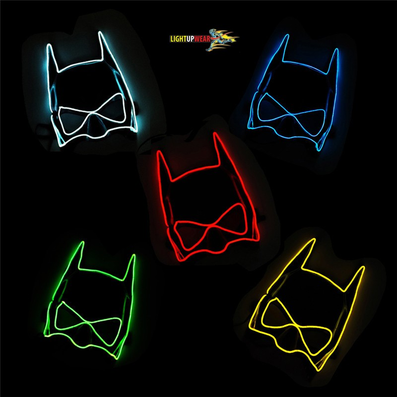 Light Up Batman Mask