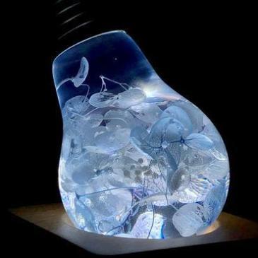 Eplight Ambient light – blue hydrangea LED BULB