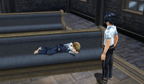 The Sleeping Boy Trails of Cold Steel