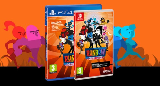 August 10, Runbow's Physical Launch