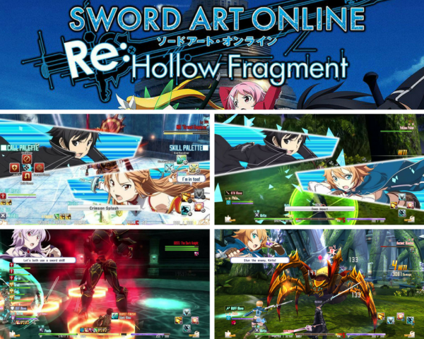 Sword Art Online Re_ Hollow Fragment PC Release