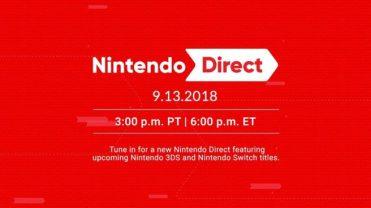 Nintendo Direct 9/13/2018