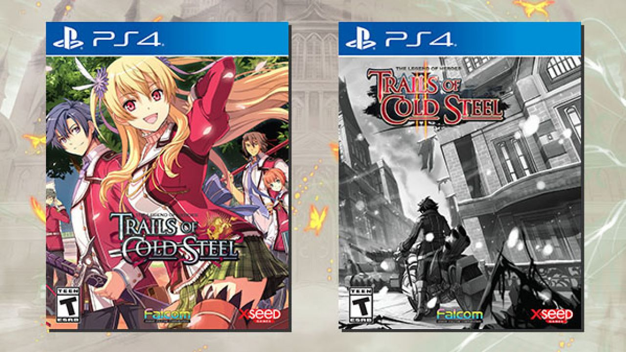 The Legend of Heroes: Trails of Cold Steel and The Legend of Heroes: Trails of Cold Steel II PS4
