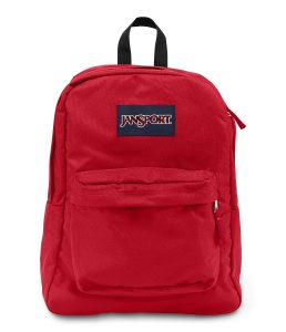 JanSport Superbreak Backpack - Red Tape - Classic, Ultralight