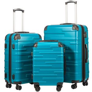 Coolife Luggage Expandable Suitcase 3