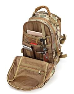 GXQ Dragon Egg Military Tactical Backpack, Molle Backpack Camping Traveling (Khaki)