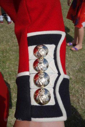13-Irish Guardsman's buttons