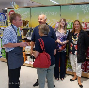 1b-Welcomed by local councillors