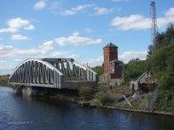 8-Moor Lane swing bridge and control box