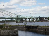 9-Silver Jubilee Bridge & railway bridge over the Mersey