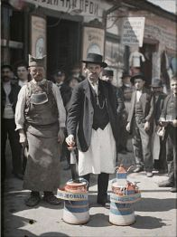 Lemonade vendor, Belgrade, 1913 by Auguste Lêon