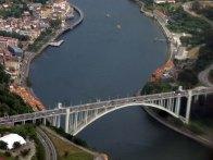 2-View of Ponte da Arrabida over the River Douro