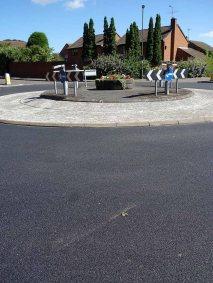 Briar Avenue new road surface