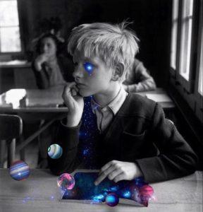自閉症児のテレパシー実験