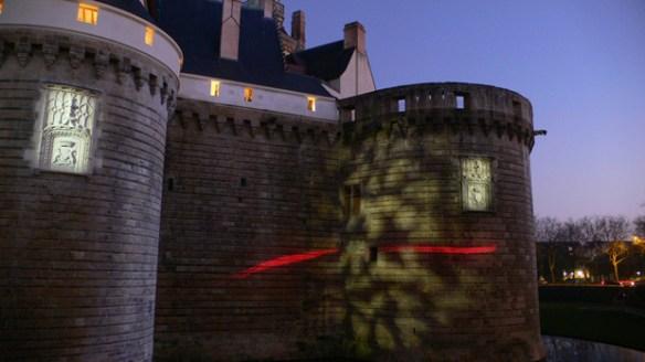 Château des Ducs de Bretagne, Nantes, France - Concepteurs lumière: Sylvie Sieg et Pierre Nègre, Photo: Vincent-Laganier