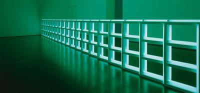 Dan Flavin - Untitled (to you, Heiner, with Admiration and Affection), 1973 Tubes fluorescents New York, Dia Art Foundation © Dia Art Foundation © Adagp, Paris 2013