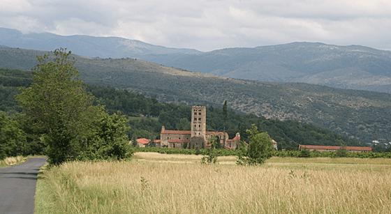 Vallée de la Lliterà, abbaye de Saint Michel de Cuxa, Prades, France – Photo : Agence Rossignol