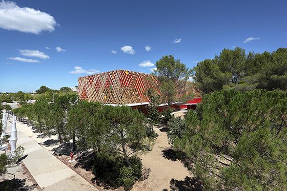 Theatre-Jean-Claude-Carriere-Montpellier-France-Architecte-A+Architecture - ©-Marie-Caroline-Lucat-1