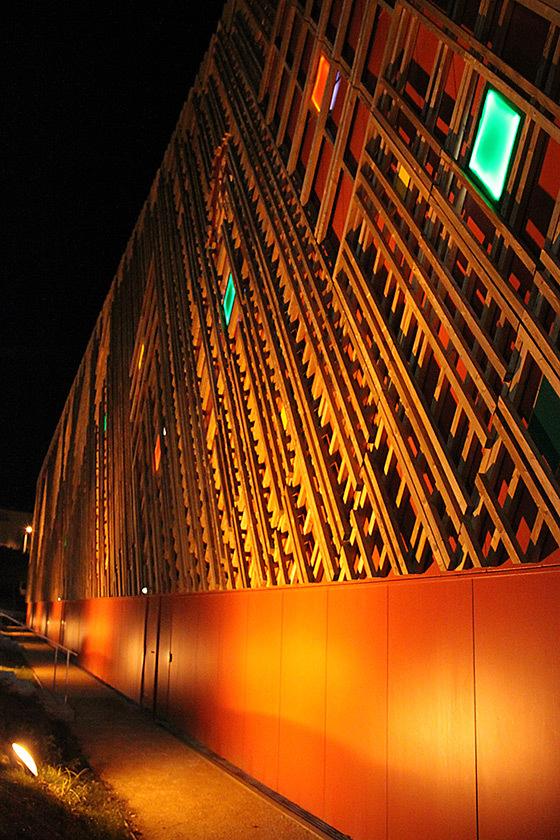 Théâtre Jean-Claude Carrière, Montpellier, France - Architecte : A+Architecture © Vincent Laganier