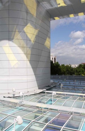 Au dessus de la verrière, Tour Eqho, Paris-La Défense, France - Hubert & Roy architectes et associés - Concepto, Roger Narboni © Fernando Javier Urquijo photographe
