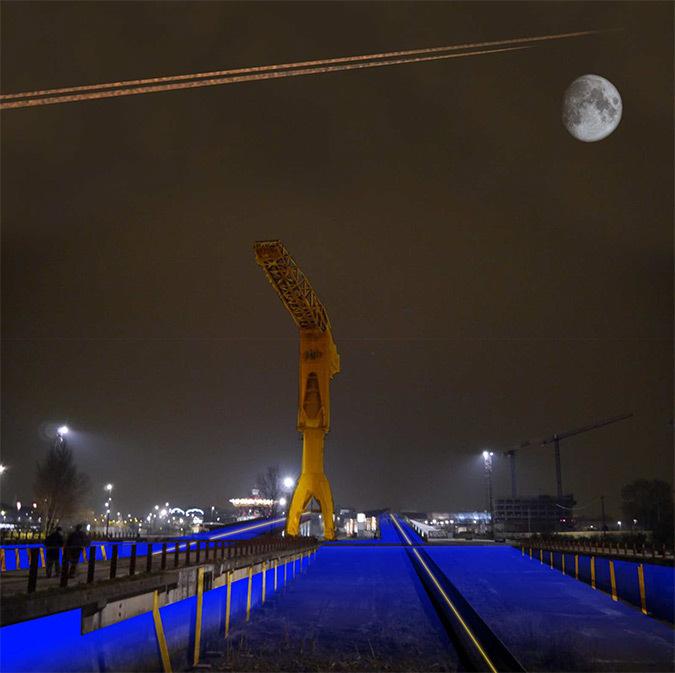 La-grue-Titan-et-son-espace-public---perspective-nocturne-2-©-Helene-Charron-et-Omar-Guennoun---Projet-Formation-Conception-Lumiere-Durable-2013---Pole-Atlantique---ENSAN