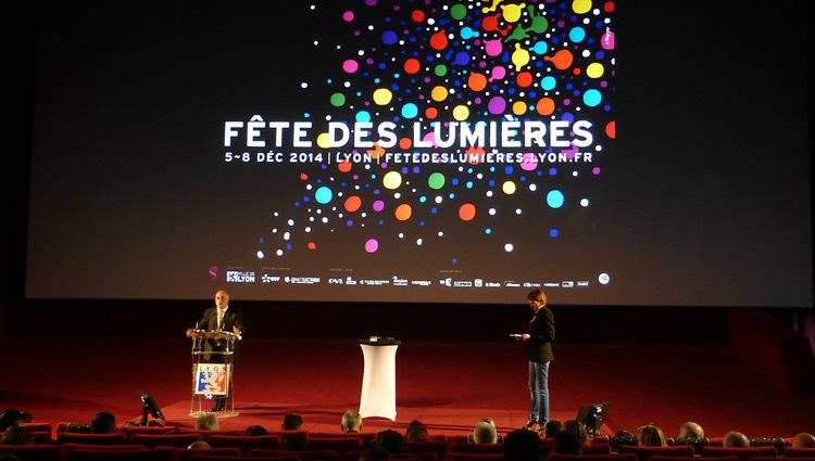 Fête-des-Lumières-2014-Lyon-Georges-Kepenekian-adjoint-culture-ville-de-lyon