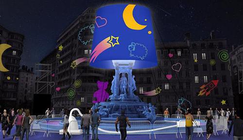 La-veilleuse-des-Jacobins---Place-des-Jacobins---Lyon---Christophe-Mayer---Digiplay-Studio---Fête-des-Lumières-2014