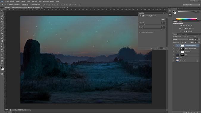 10 - luminosite_contraste - tutoriel Photoshop, maitriser la nuit – Nicolas Houel