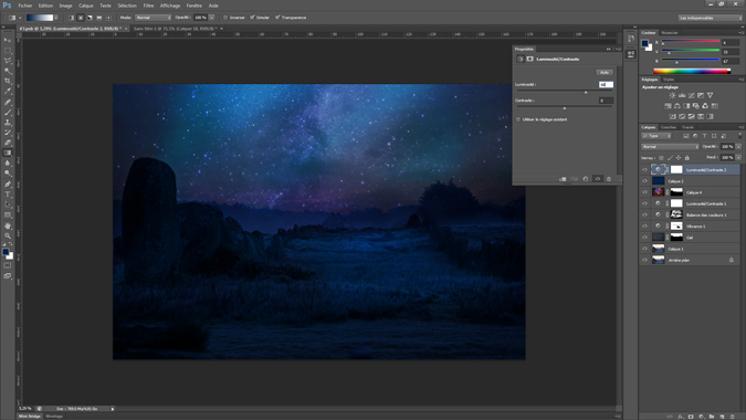 16 - luminosite_contraste - tutoriel Photoshop, maitriser la nuit – Nicolas Houel