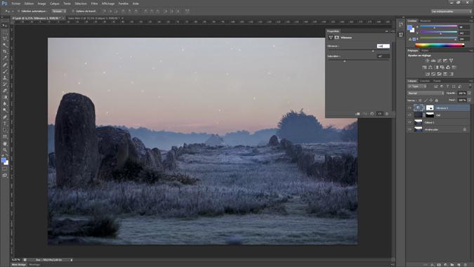 7 - vibrance_saturation- tutoriel Photoshop, maitriser la nuit – Nicolas Houel