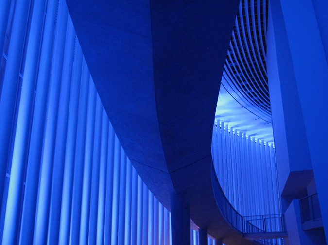 Mono Light, Eric Michel, 2014 - Philharmonie Luxembourg, Rainy days - Photo : Eric-Michel
