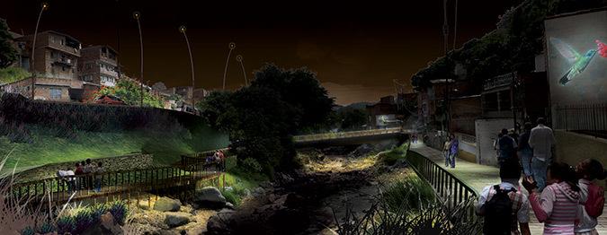 Workshop PMIL, Medellin - Parque Quebrada La Iguana - Illustration : Raphael Girouard
