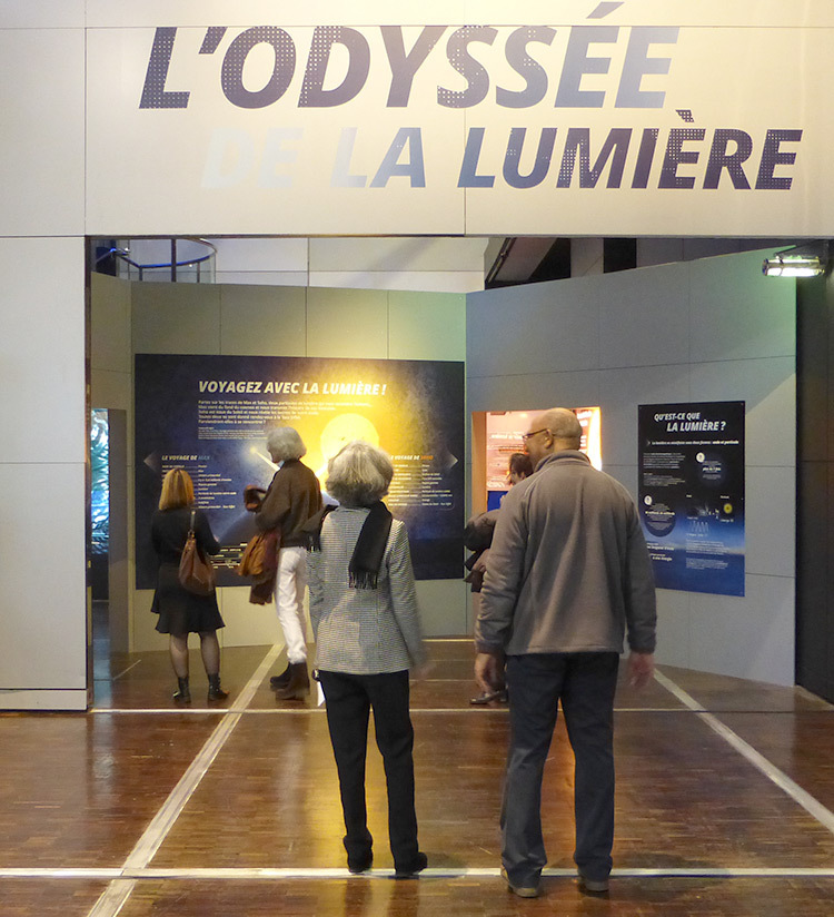 2015, l'Odysee de la Lumiere, exposition, CEA, Paris - Photo Vincent Laganier