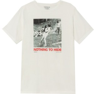 "T-shirt ""Nothing to hide"""