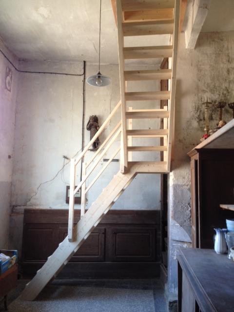 escalier eglise