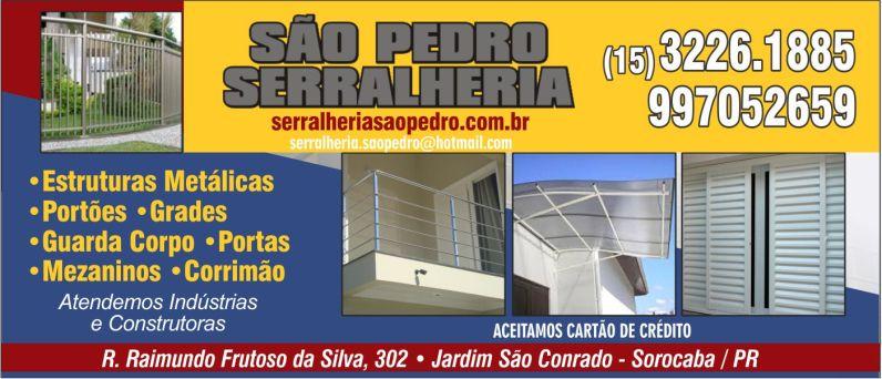 SERRALHERIA SÃO PEDRO BANNER