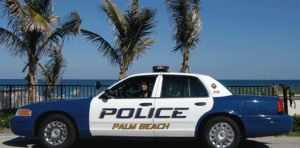 Polizia di Palm Beach -California