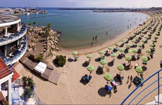 spiaggia sanremo