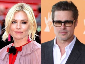 Sienna Miller e Brad Pitt, secondo alcuni tra i due ci sarebbe una relazione