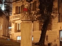 casapound-bavaglio-statue