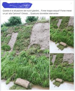 cormigliano giardino lineare danni