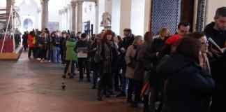 liliana segre genova coda palazzo Ducale