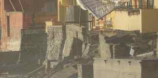 varigotti muro crollato, mareggiata, maltempo in Liguria, notizie Savona, notizie Liguria