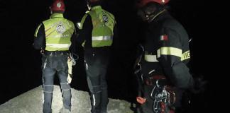 vigili fuoco droni disperso bonassola