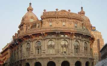 palazzo della Borsa Genova